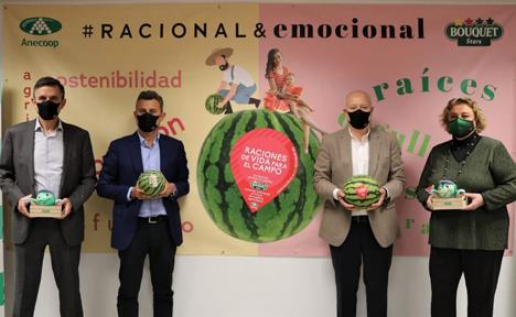 Bouquet watermelon campaign. Foto © Anecoop
