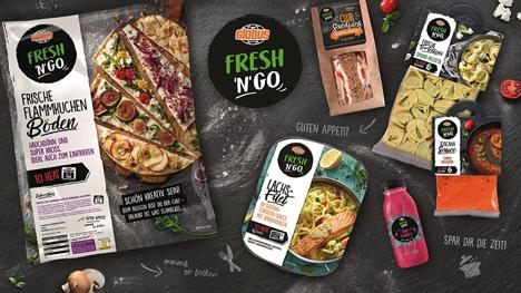 Mit Globus FRESH 'N' GO genießen Globus-Kunden jederzeit abwechslungsreiche Frische und besten Geschmack. (© Globus SB-Warenhaus)