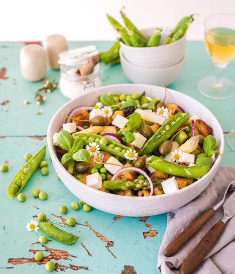 Landgard Spargelrezept: ©Foodistas / Obst & Gemüse – 1000 gute Gründe