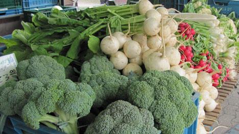 Gemüse aus Niedersachsen hat jetzt Saison. Foto ©  Landvolk Niedersachsen
