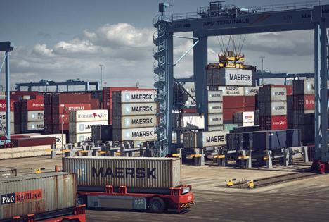 APM Terminals operation. Foto © A.P. Moller - Maersk