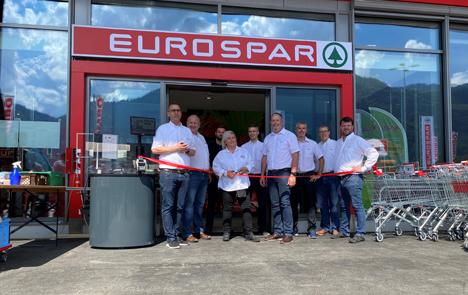 Neuen EUROSPAR Schänis. Foto © SPAR Handels AG