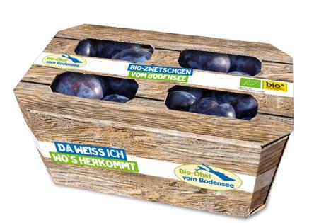 Plastikfreie Verpackungen für Bio-Obst. Foto © Obst vom Bodensee Vertriebsgesellschaft mbH