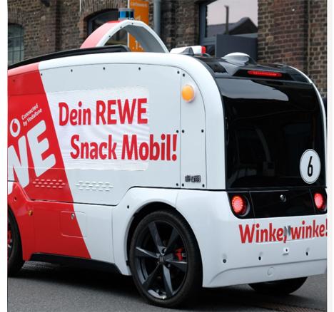 """""""REWE Snack Mobil"""" Foto © REWE Group"""