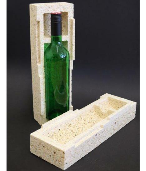 Nachhaltige Verpackung: Eine Arbeitsgruppe der Universität Göttingen forscht seit langem an Herstellungsverfahren für Produkte aus Popcorn, die eine umweltfreundliche Alternative zu Styropor- oder Kunststoffprodukten darstellen könnten. Foto © Carolin Pertsch