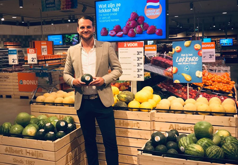 Foto Jurian Simons, Obstkäufer bei Albert Heijn. Foto © Albert Heijn