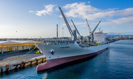 Schiff MV Kakariki. Foto © Jamie Troughton, Dscribe Media.
